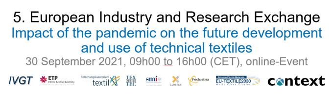 5th European Industry and Research Exchange on Technical Textile Processes and Applications