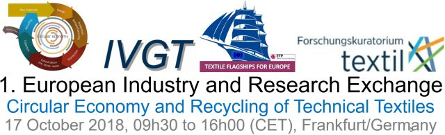1th European Industry and Research Exchange on Technical Textile