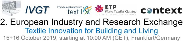 2nd European Industry and Research Exchange on Technical Textile